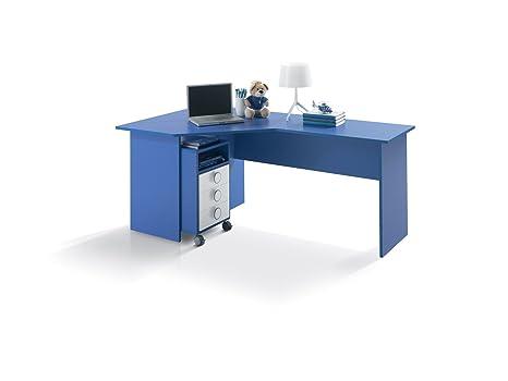 Scrivania Angolo Computer : Scrivanie per camerette ad angolo scrivania angolare computer