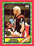 Boomer Esiason 1986 Topps Football Rookie Reprint Card (Bengals)