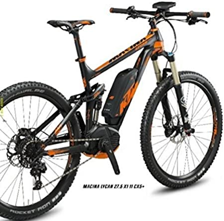 Ktm Macina Lycan 27,5X1 + 11 Cx5 E-Bike - Cambio Sram X1 Rd 11 Sp ...