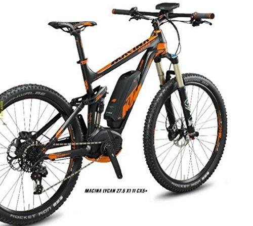 KTM MACINA LYCAN 27,5x1 + 11 CX5 E-Bike - Cambio SRAM X1 RD 11 sp - Pantalla Nyon de Bosch con GPS - Motor Bosch CX - Batería 500W 36V-13,9Ah: Amazon.es: ...