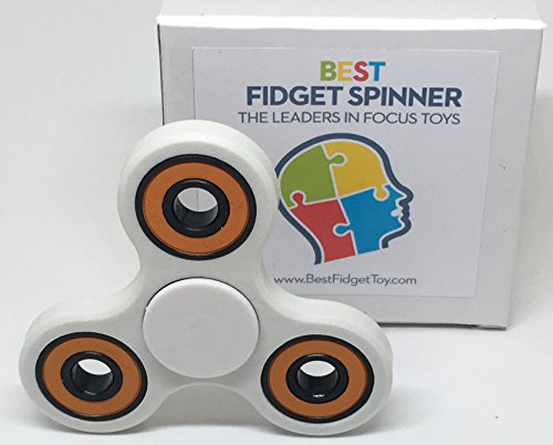 Original Fidget Spinner Toy - Durable, Handheld & Silent Design, Relieves Anxiety, Stress & Promotes Focus, Therapeutic ADHD, Autism Fiddle Spinning Toy, Ideal For Classroom, Workplace