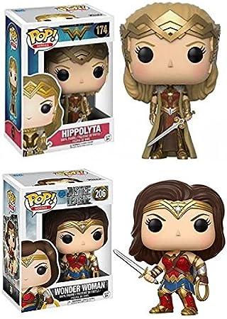 Funko POP! DC: Wonder Woman + Hippolyta – Justice League Stylized Vinyl Figure Set NEW: Amazon.es: Juguetes y juegos