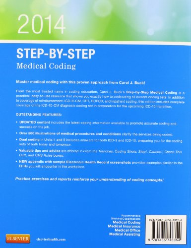 Step-by-Step Medical Coding, 2014 Edition, 1e