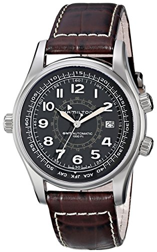 Hamilton Men's H77505535 Khaki Navi UTC Automatic Watch