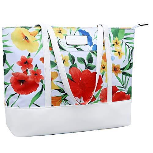 15.6 Laptop Tote Bag,15 Inch Large Business Work Bag,14 Inch Durable Nylon Bag...