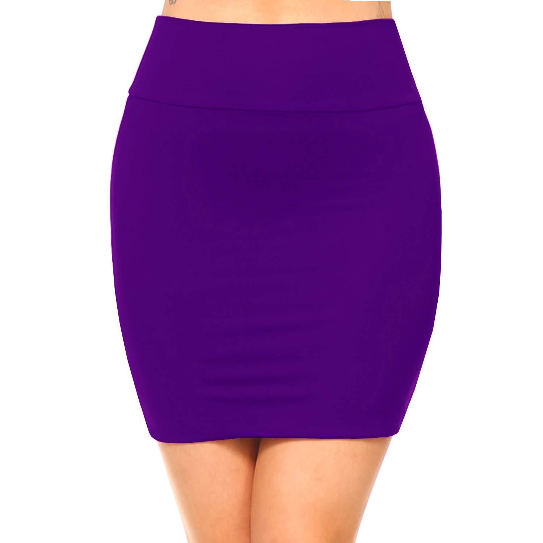 Fashionazzle SKIRT Fashionazzle レディース B07CVQ9L4R レディース X-Large|Ks06-violet/Spandex Ks06-violet/Spandex Ks06-violet/Spandex X-Large, 水巻町:9b81c217 --- mail.varisee.fi