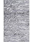 The Rug Market 44444D Handmade Rugs, Kiawah Gray/Silver, Multicolor