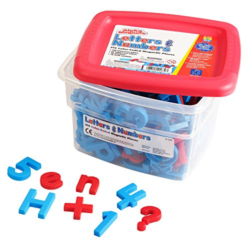 - Educational Insights Color-Coded AlphaMagnets and MathMagnets, 214 Pieces