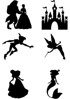 disney wall stickers beauty and the beast wall art stickers decals