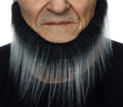 [Mormon salt and pepper fake beard, self adhesive] (Mormon Halloween Costumes)