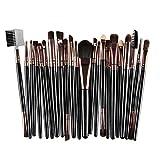Facial Yoga Lip Lines - LUNIWEI Beauty Makeup 22 PCS/Set Brush Set
