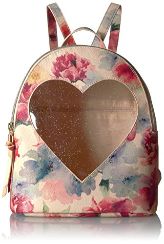 T-Shirt & Jeans Floral Heart Back Pack, Mul