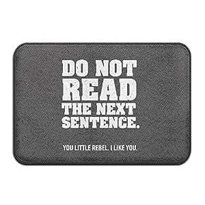 No leer la siguiente frase para interiores/para exteriores/baño mats 2416(