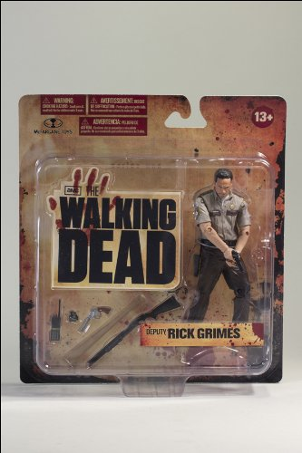 McFarlane Toys The Walking Dead TV Series 1 Deputy Rick Grimes Action Figure