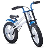 Joovy Bicycoo BMX Balance Bike, Blue, 21.5 x 16.2 x 33.5