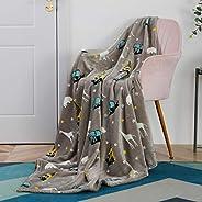 SOCHOW Glow in The Dark Throw Blanket, All Season Blanket for Kids