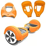 Pulison(TM)Silicone Case Cover for 6.5 2 Wheels Smart Self Balancing Scooter Hover board (Orange)