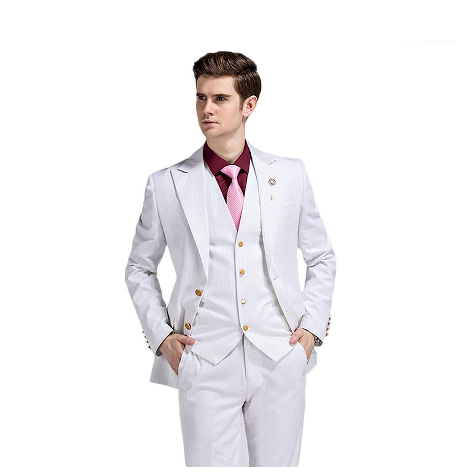 Leader of the Beauty Bridegroom Suit Slim Fit Guest Tuxedo---Two Color