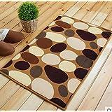 40*60CM Non-slip Pad Floor Carpet Bathroom Bedroom Kitchen Shower Rug Number:#01