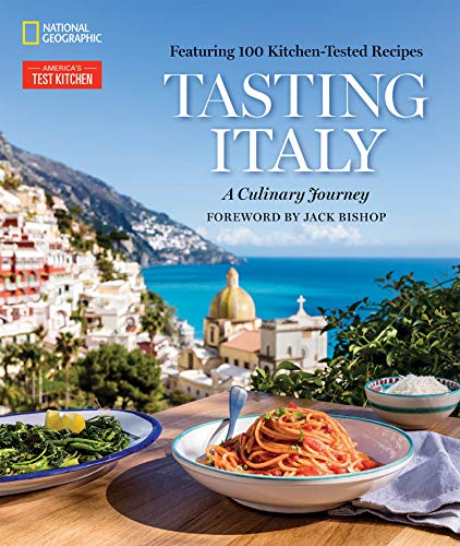 The experts at America's Test Kitchen and National Geographic bring Italy's magnificent cuisine, culture, and landscapes--and 100 authentic regional recipes--right to your kitchen.Featuring 100 innovative, kitchen-tested recipes, 300 gorgeous color p...
