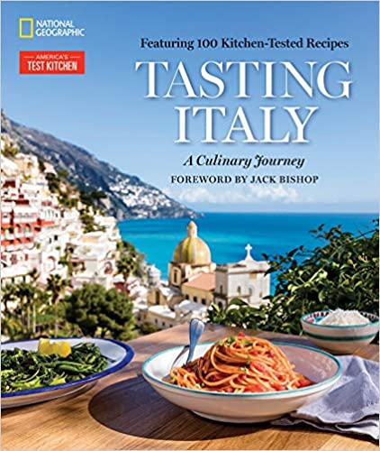 The Tasting Italy: A Culinary Journey by America's Test Kitchen travel product recommended by Ceppie Merry on Lifney.
