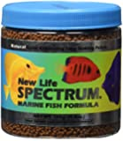 New Life Spectrum Marine Fish Formula 1mm Sinking Pellet Fish Food(Natural Color Enhancing), 125 Gram