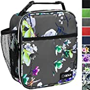 OPUX Premium Insulated Lunch Box   Soft Leakproof School Lunch Bag for Kids, Boys, Girls   Durable Reusable Wo