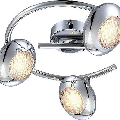 15 Watt LED Deckenleuchte Beleuchtung Deckenstrahler Strahler Lampe Leuchte Licht Globo 56217-3