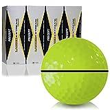 Precept Laddie Extreme Yellow AlignXL Personalized Golf Balls