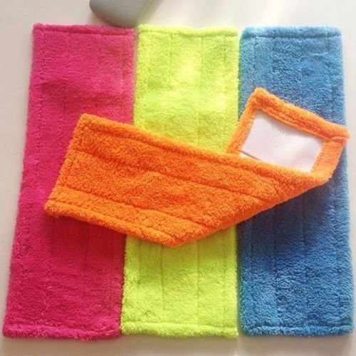 new-replacement-mop-head-cleaning-pad-microfiber-coral-refill-household-dust-mop