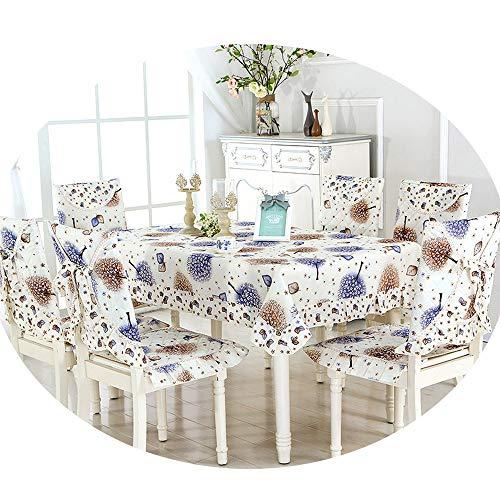 NDJqer New Colorful Maple Leaf Print Table Cover 1 Piece Wedding Party Decoration Table Cloth Soft Tablecloth Juvenile Tour About 110X160Cm]()