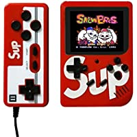 Retro Mini Handheld Video Game Console Player Gameboy Built-in 400 (Red)