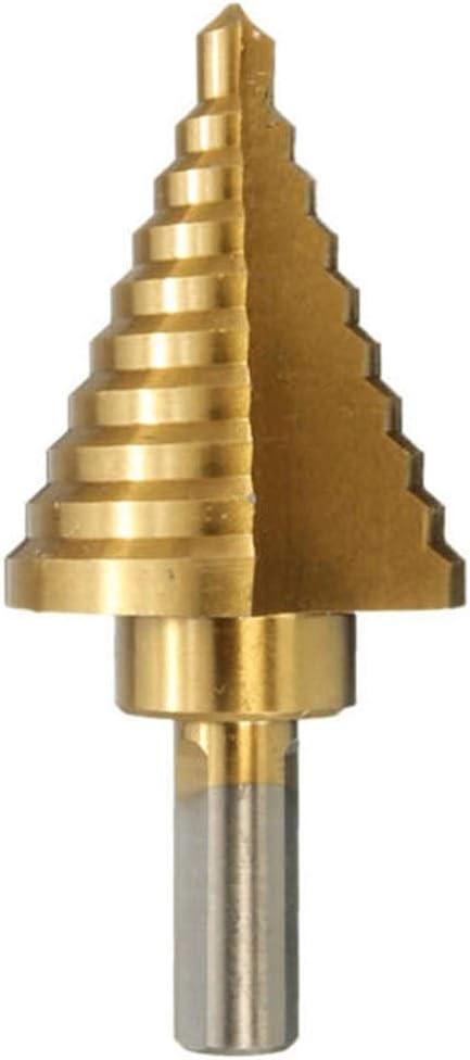 WXQ-XQ Drill 10 Step Cone Drill 1//4-1-3//8 Inch Step Drill Bit Drill Accessories