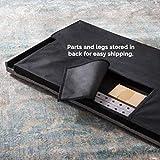 LUCID Mid-Rise Upholstered Headboard - Adjustable