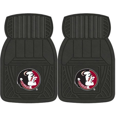 NCAA 4-Piece Front #36572578 and Rear #19888844 Heavy-Duty Vinyl Car Mat Set, Florida State University by Sports Licensing Solutions LLC