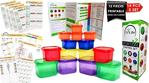 Day Portion Control Containers Preparation product image