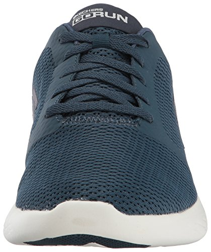 Skechers Navy Refine Sportive Indoor Uomo Run Blu Scarpe 600 Go f1xwOqf6