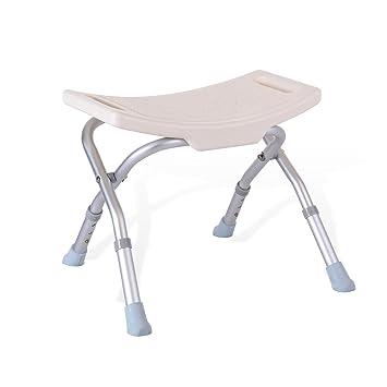 Foldable Shower/Bath Stools Aluminum Alloy Folding Shower Seat Chair ...