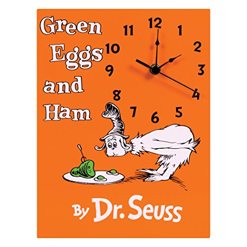 Trend Lab Dr. Seuss Wall Clock, Multi, Green Eggs and Ham