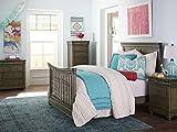 Bassett Baby & Kids Parker Full-Size Bed Rails, Cobblestone