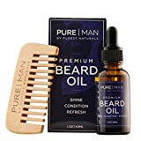 Best  - Purest Naturals Organic Beard Oil & Leave-In Conditioner Review