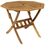 Charles Bentley Garden Wooden Furniture Hardwood Octagonal Table