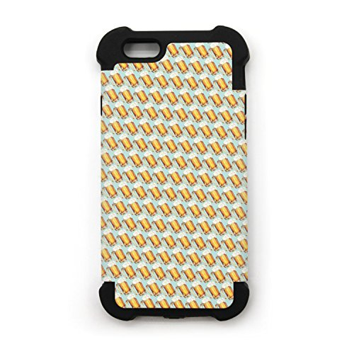 Beer Glasses IPhone 7 IPhone 7 Plus Case Soft Feeling Fit Shell ()