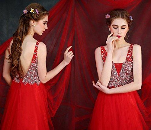 Vestito Ad A Drasawee Donna Linea Rosso dqvdzA
