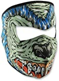 Zanheadgear Neoprene Full Face Mask, Hell Hound