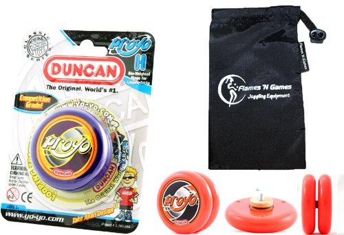 Duncan PROYO YoYo  Pro String Trick YoYos with Travel Bag!