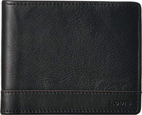 (Lodis Accessories Men's Bifold Wallet Black One)