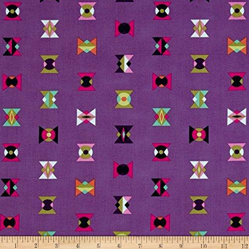Free Spirit Fabrics Tula Pink Spirit Animal Arrowheads Lunar Glow Fabric By The Yard