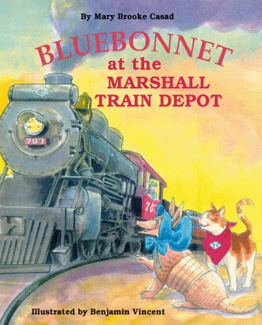 Bluebonnet at the Marshall Train Depot (Bluebonnet Series)