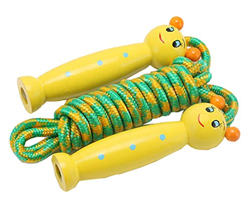 DRAGON SONIC Adjustable Skipping Rope,Sports Game Fitness Skipping Rope,D5 by DRAGON SONIC